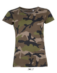 Premium T-Shirt Woman - Camouflage