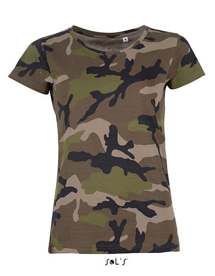 Premium T-Shirt Woman - Camouflage