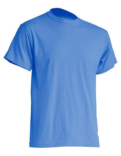 Basic T-Shirt Man - Azure