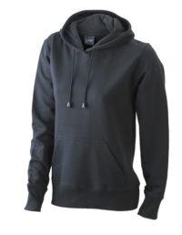 Premium Ladies´ Hooded Sweat - Black