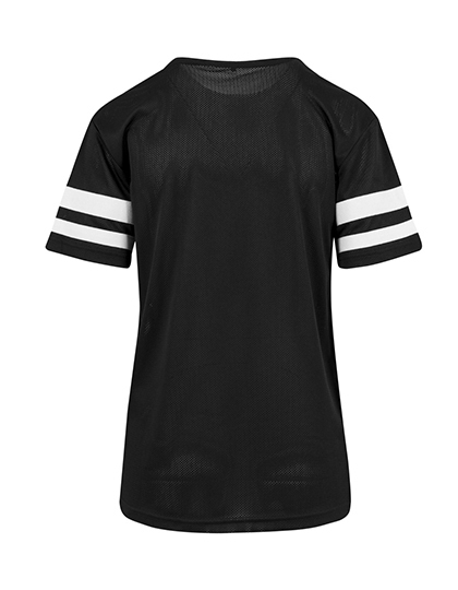 Premium T-Shirt XTRA-Long Stripes Woman - Black / White