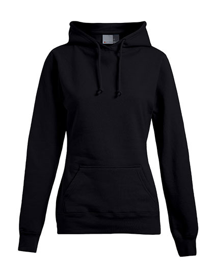 Basic Hoodie Woman - Black