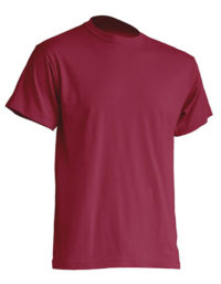 Basic T-Shirt Man - Burgundy