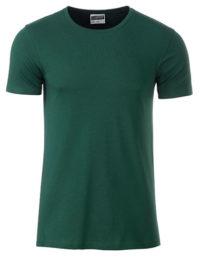 Basic T Organic 100% Bio-Baumwolle Man - Dark Green