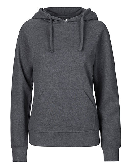 Hoodie Organic 100% Bio-Baumwolle Woman - Dark Heather