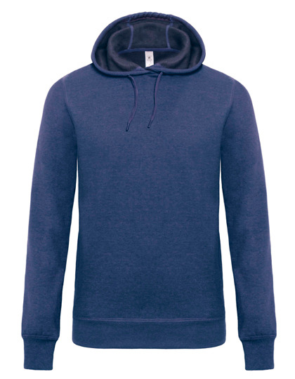 Premium Hooded Sweat DNM Universe Man - Dark Heather Blue