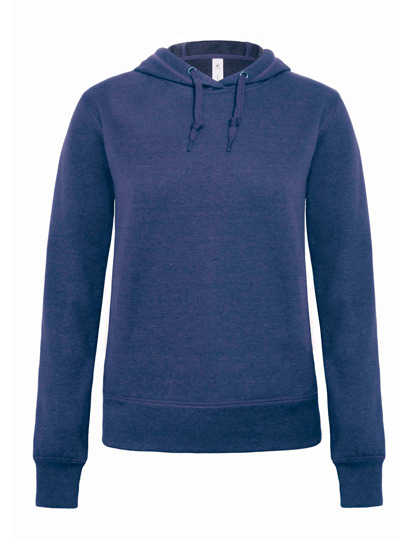 Premium Hooded Sweat DNM Universe Woman - Dark Heather Blue