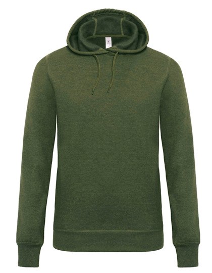 Premium Hooded Sweat DNM Universe Man - Dark Heather Moss