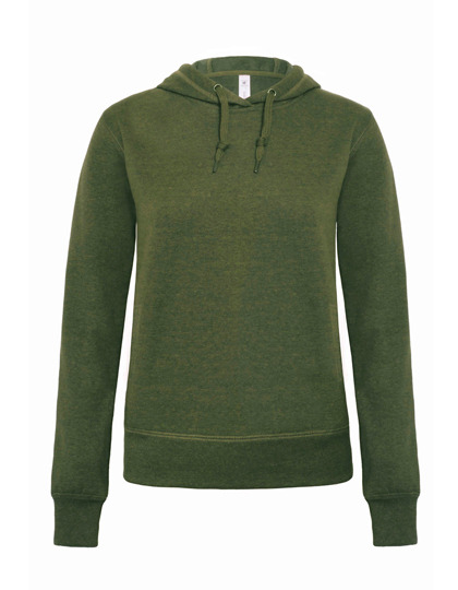 Premium Hooded Sweat DNM Universe Woman - Dark Heather Moss