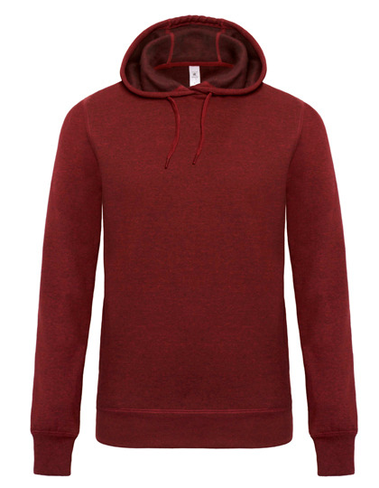 Premium Hooded Sweat DNM Universe Man - Dark Heather Red