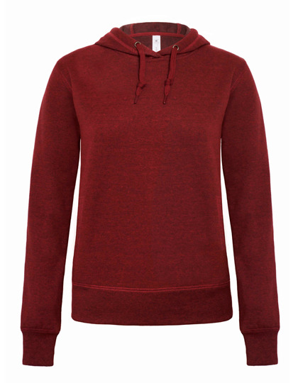 Premium Hooded Sweat DNM Universe Woman - Dark Heather Red
