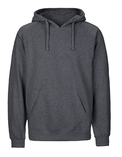 Hoodie Organic 100% Bio-Baumwolle Man - Dark Heather
