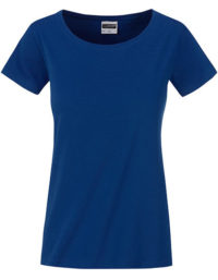 Basic T Organic 100% Bio-Baumwolle Woman - Dark Royal
