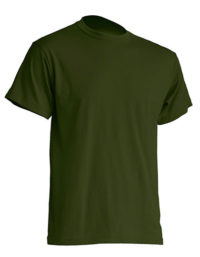 Basic T-Shirt Man - Forest Green
