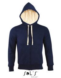 Premium Zipped Jacket Sherpa Woman - French Navy