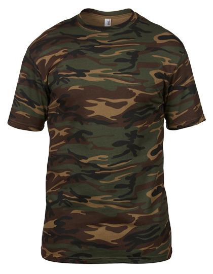 Premium T-Shirt Man - Camouflage Green