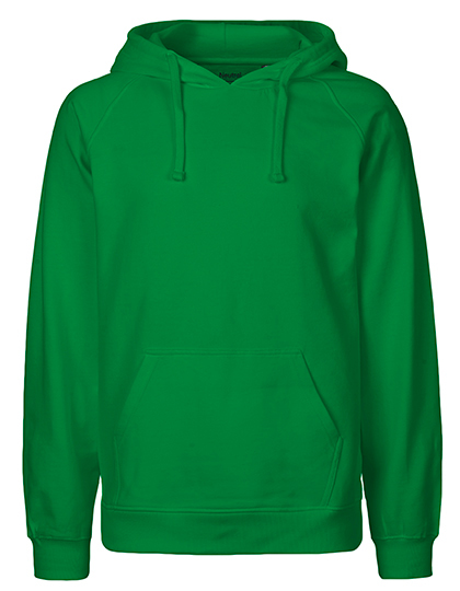 Hoodie Organic 100% Bio-Baumwolle Man - Green