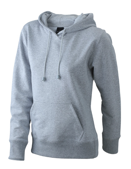 Premium Ladies´ Hooded Sweat - Grey Heather