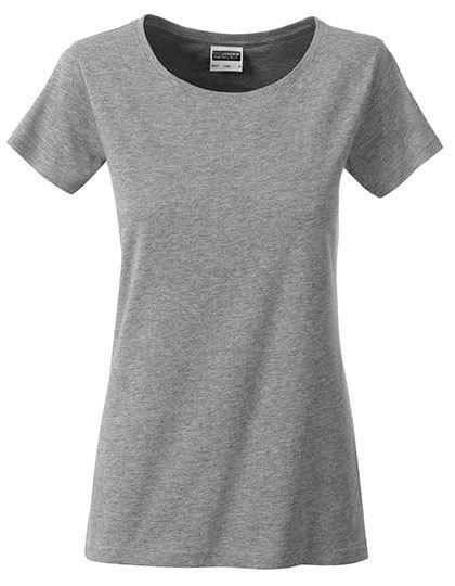 Basic T Organic 100% Bio-Baumwolle Woman - Grey Heather