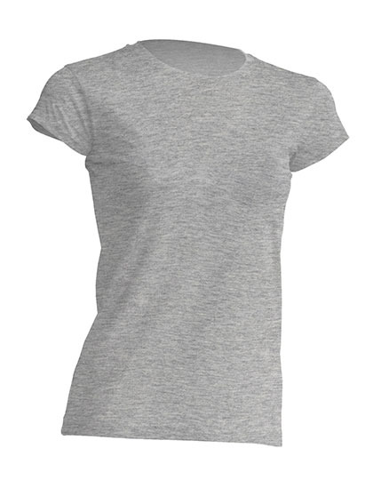 Basic T-Shirt Woman - Grey Melange