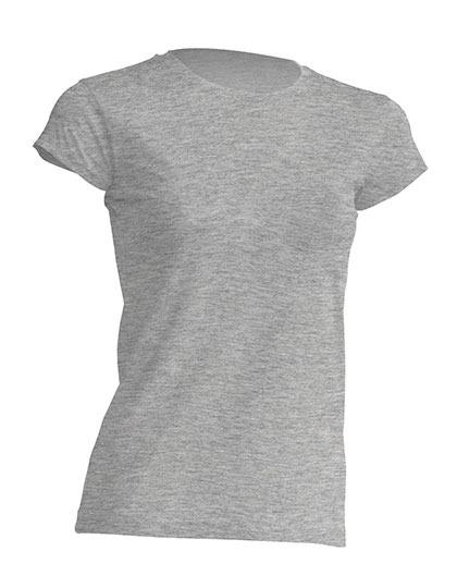 Basic T-Shirt Woman - Grey Melange