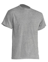Basic T-Shirt Man - Grey Melange
