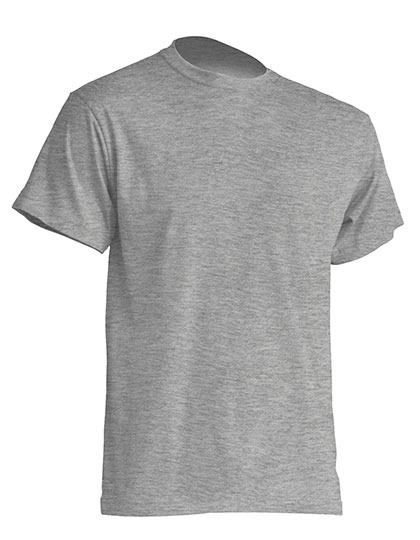 Basic T-Shirt Man - Grey Melange