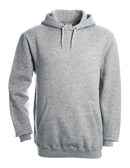Basic Hoodie Man - Heather Grey