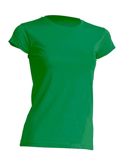 Basic T-Shirt Woman - Kelly Green