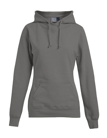 Basic Hoodie Woman - Light Grey