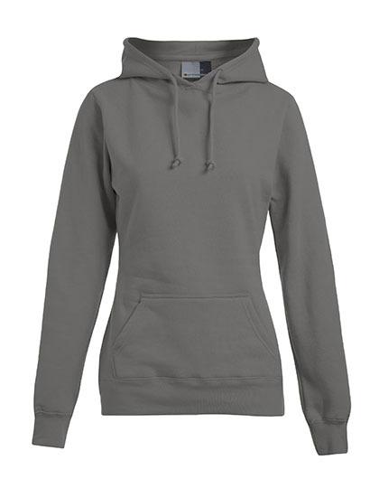 Basic Hoodie Woman - Light Grey