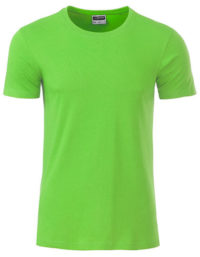 Basic T Organic 100% Bio-Baumwolle Man - Lime Green