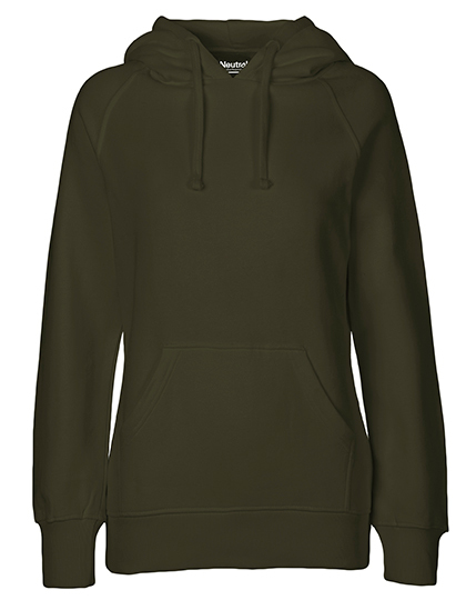 Hoodie Organic 100% Bio-Baumwolle Woman - Military