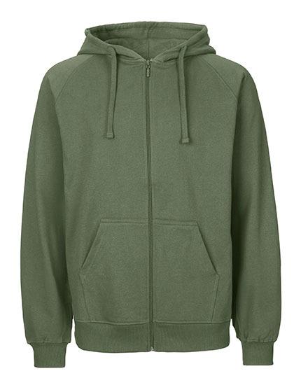 Zip-Hoodie Organic 100% Bio-Baumwolle Man - Military