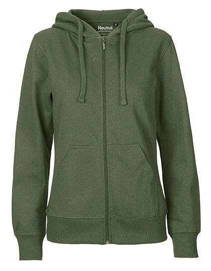 Zip-Hoodie Organic 100% Bio-Baumwolle Woman - Military