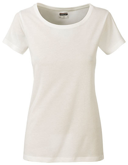 Basic T Organic 100% Bio-Baumwolle Woman - Natural