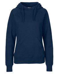 Hoodie Organic 100% Bio-Baumwolle Woman - Navy