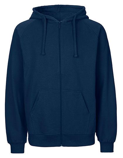 Zip-Hoodie Organic 100% Bio-Baumwolle Man - Navy