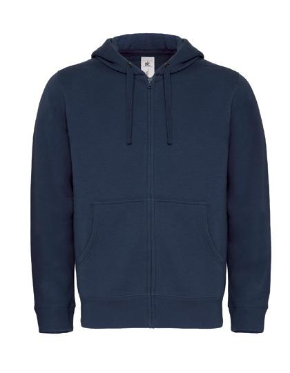 Basic Zip-Hoodie Man - Navy