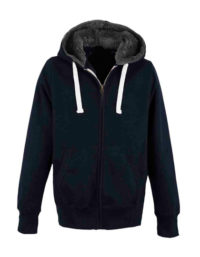Premium Fur Lined Chunky Zoodie Man - New French Navy