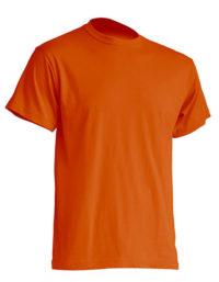 Basic T-Shirt Man - Orange