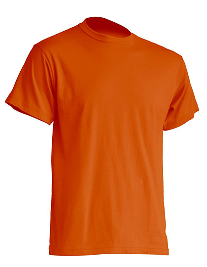 Basic T-Shirt Man - Orange