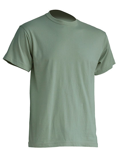 Basic T-Shirt Man - Pale Green