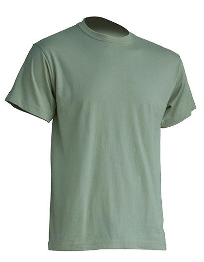 Basic T-Shirt Man - Pale Green