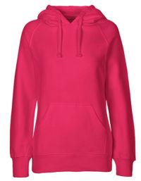 Hoodie Organic 100% Bio-Baumwolle Woman - Pink