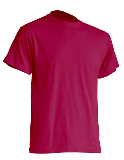 Basic T-Shirt Man - Rasperry