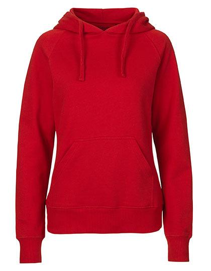 Hoodie Organic 100% Bio-Baumwolle Woman - Red