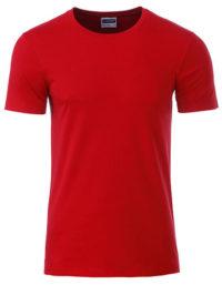 Basic T Organic 100% Bio-Baumwolle Man - Red