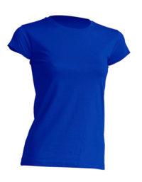 Basic T Organic 100% Bio-Baumwolle Woman - Royal Blue