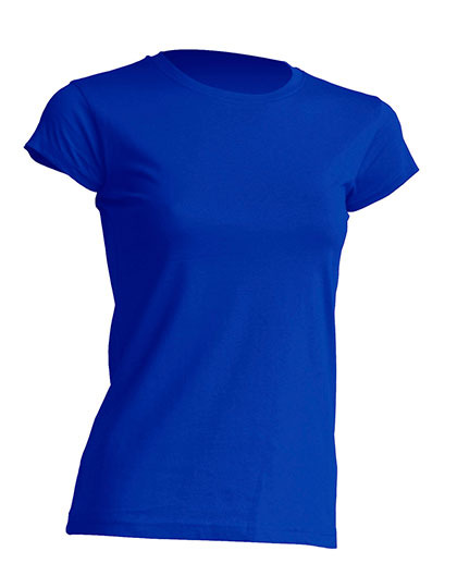 Basic T Organic 100% Bio-Baumwolle Woman - Royal Blue